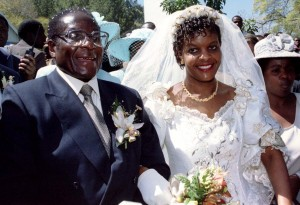 Robert Mugabe Grace Mugabe Marriage Succession First Lady Second Wife