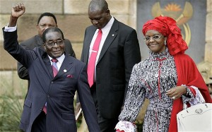 Robert Mugabe Grace Mugabe Marriage Succession First Lady Second Wife Life