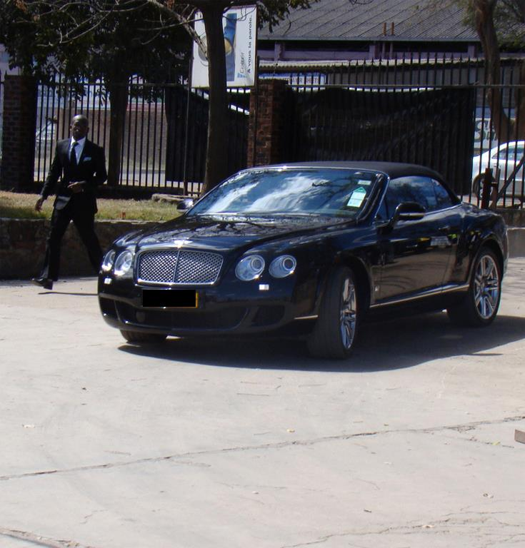 Prophet uerbert angel the bentley car is mine zimbabwe Shepherds motors